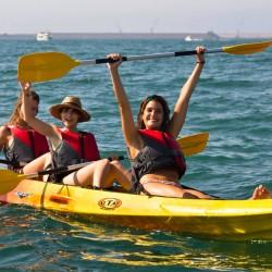 ruta kayak de mar Gijón